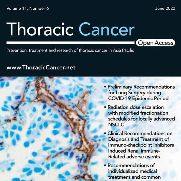 Клинические рекомендации по лечению рака легких во время пандемии COVID-19